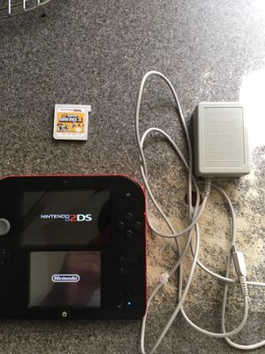 Nintendo 2ds includes super Mario bro's 2 and charger for Sale in San Diego, CA