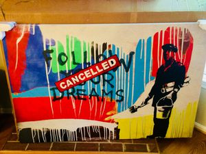 Banksy Follow Your Dreams Canvas Artwork for Sale in Arlington, VA