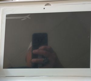 Tablet with blue case for Sale in Pasadena, TX