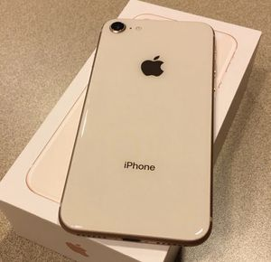 Unlocked iPhone 8 Gold 64GB for Sale in Providence, RI