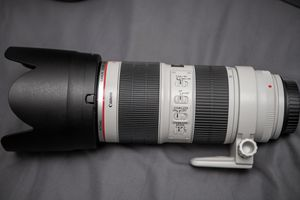 Canon 70-200mm f2.8 L II IS USM LENS for Sale in Richardson, TX