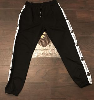A Bathing Ape BAPE Side Line slim sweatpants sz XXL (fits like Large) for Sale in Charlotte, NC