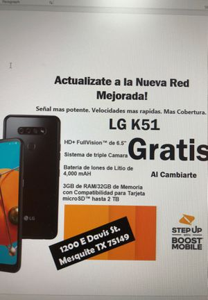 LG K51 FREE for Sale in Balch Springs, TX
