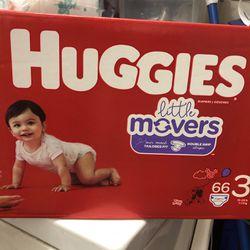 One Box Diapers Huggies !! for Sale in Seattle,  WA