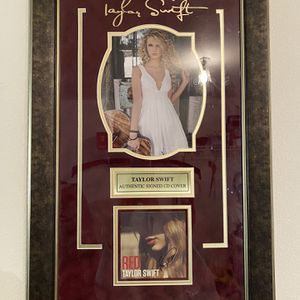 Taylor Swift Authentic Signed CD Cover for Sale in Denver, CO