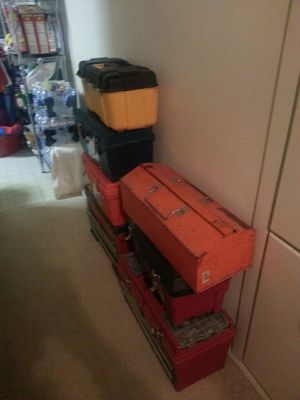 For sale tool boxes + tools for Sale in Falls Church, VA