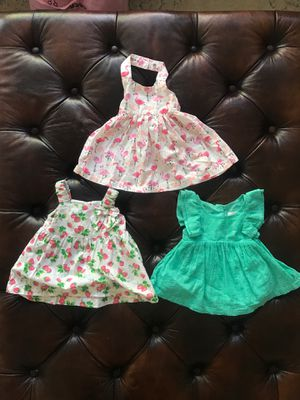 Newborn Summer dresses w/ Diaper covers Cat & Jack Koala Kids for Sale in Las Vegas, NV