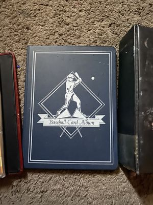 Football, Basketball and baseball cards albums for Sale in Dallas, TX