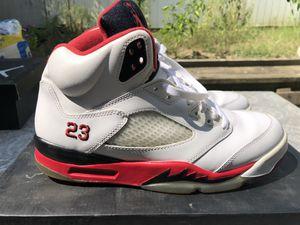 "Air Jordan 5 Retro ""Fire Red"" Size 10.5 Release Date 2013 for Sale in Tucker, GA"