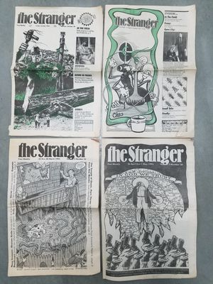 Vintage weekly Seattle music & arts scene papers - 1989 to 2012 for Sale in Kent, WA