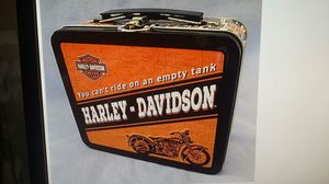 "New official Harley-Davidson motorcycle collectible mini tin lunch box pail 6 1/2""x5 /2"" for Sale in Venice, CA"