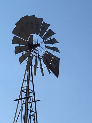 Windmill tower with motor for Sale in Wilson, KS