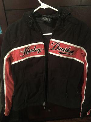 Harley Davidson riding ladies slim jacket size small!! for Sale in Jacksonville, FL