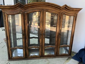 FREE wood hutch for Sale in Riverside, CA