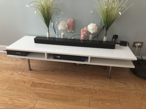 White tv stand for Sale in Chicago, IL