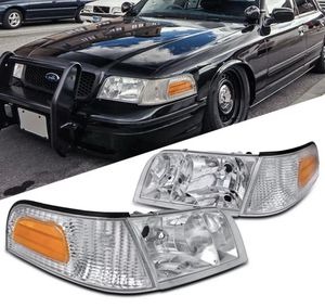 1998-2011 Ford Crown Victoria Chrome Headlights for Sale in La Habra, CA