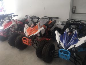 125cc ACE power sport ATVs Org price $1499 for Sale in Brockton, MA