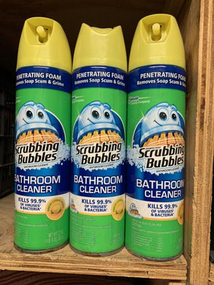 Scrubbing bubbles for Sale in Houston, TX