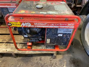 3600 watt Generator Honda motor for Sale in Sterling Heights, MI
