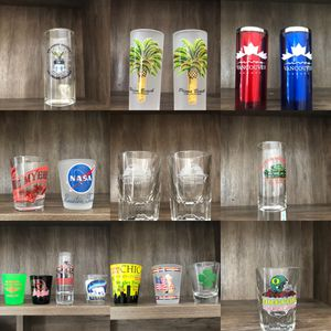 Collection of Shot Glasses for Sale in Vancouver, WA
