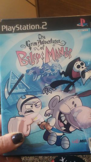 The grim adventures of billy and mandy ps2 for Sale in Traverse City, MI