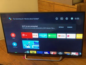 Sony Bravia 55 in 4K ultra hd smart led tv for Sale in Los Angeles, CA