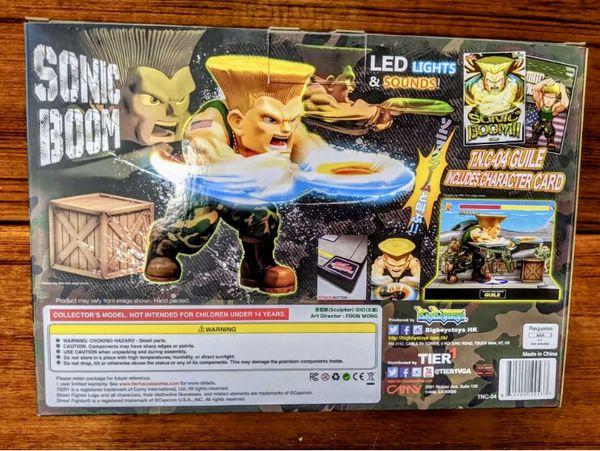 Big Boy Toys Street Fighter Guile T.N.C-04