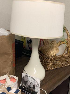 White lamp for Sale in Tacoma, WA