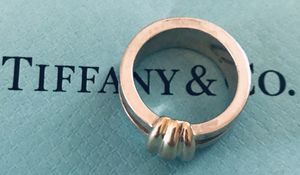 Tiffany & Co. Atlas earrings and ring for Sale in Silver Spring, MD