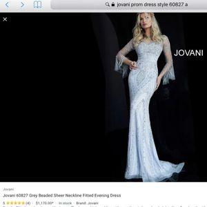 Gorgeous And Unique $1200 Jovani Prom Special Occasion Dress Gown Size 12/14 for Sale in Drexel Hill, PA