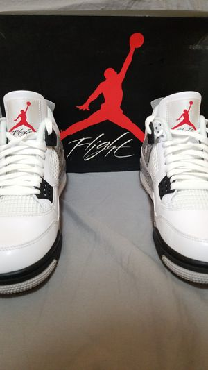 Air Jordan Retro 4 OG 'Air' White Cement Size 8 2016 100% AUTHENTIC for Sale in Long Beach, CA