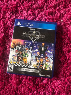 Kingdom hearts 1.5 2.5 ps4 for Sale in Vancouver, WA