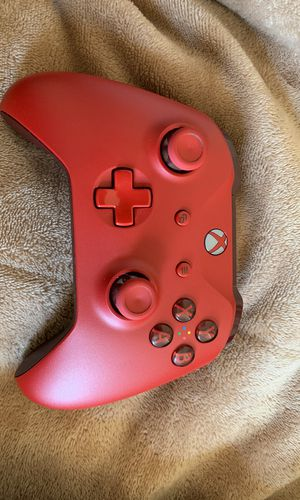 Xbox one controller - Red for Sale in San Luis Obispo, CA