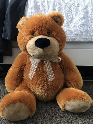 Large brown teddy bear for Sale in Pleasanton, CA