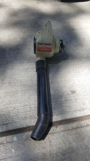 Craftsman leaf blower electric for Sale in Marietta, GA