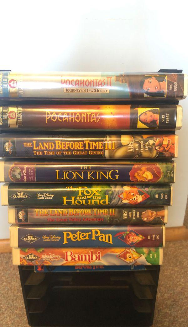 Vintage Disney VHS Tapes!