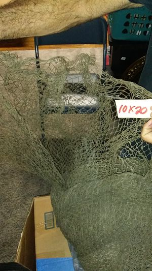 10x20 fishing net for Sale in Holiday, FL
