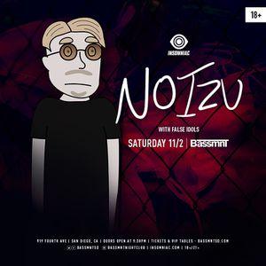 Noizu @ Bassmnt Tickets - $15 for Sale in San Diego, CA