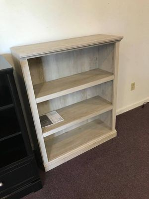 3 shelf bookcase - cottage white for Sale in West Columbia, SC