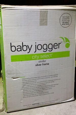 Baby Jogger City Select All Terrain Single Stroller Silver Frame Quartz for Sale in Modesto, CA