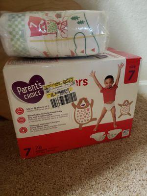 Diaper size 7 for Sale in DeBary, FL