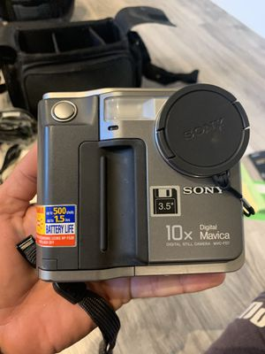 Sony Camera 3.5 floppy Disc 100 %works really RARE!!! for Sale in St. Petersburg, FL