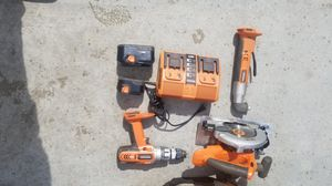 Ridgid tools with bag for Sale in Norwalk, CA