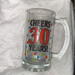 Cheers to 30 years beer mug for Sale in Cerritos, CA