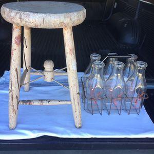 Antique Milking Stool for Sale in Escondido, CA
