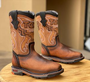 Steel toe work boots for Sale in Houston, TX