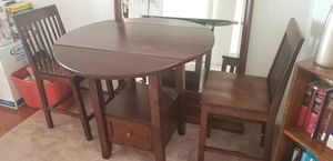 Wooden 3 piece Kitchenette set for Sale in Jessup, MD