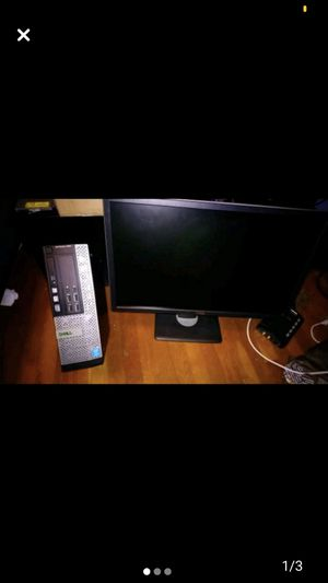 Dell i5 desktop package with monitor for Sale in Canonsburg, PA