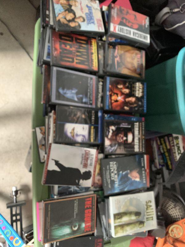 Huge lot of 200 dvds