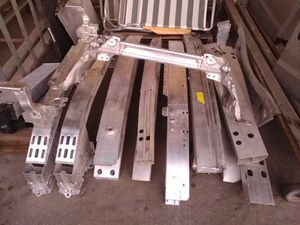 Bumper reinforcement aluminum parts used still good Audi subframe for Sale in Covina, CA